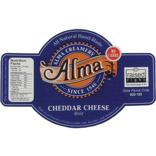 Alma Cheese Label