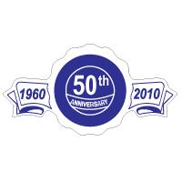 Custom Shape Roll Label - Anniversary
