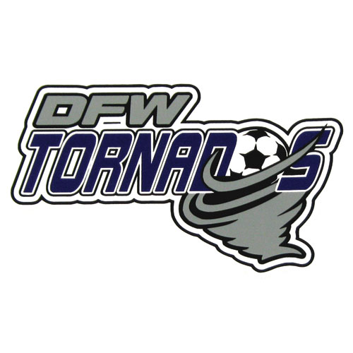DFW Tornados Decals