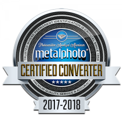 Metalphoto® Converter Certification