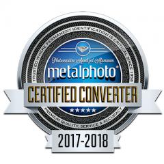 Metalphoto® Converter Certification