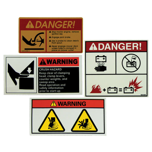 Warning Labels Combined