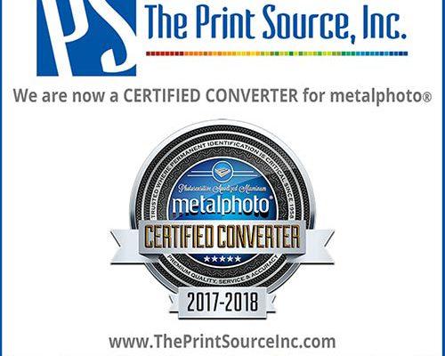 Metalphoto Certification 2017