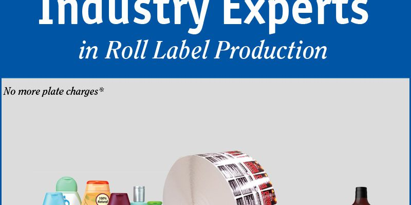 The Print Source, Inc. is your industry expert in roll label production.