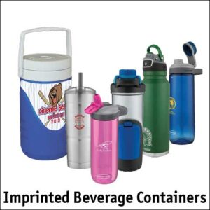 Imprinted Beverage Containers