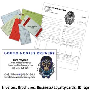 Invoices-Brochures-Tags-Cards