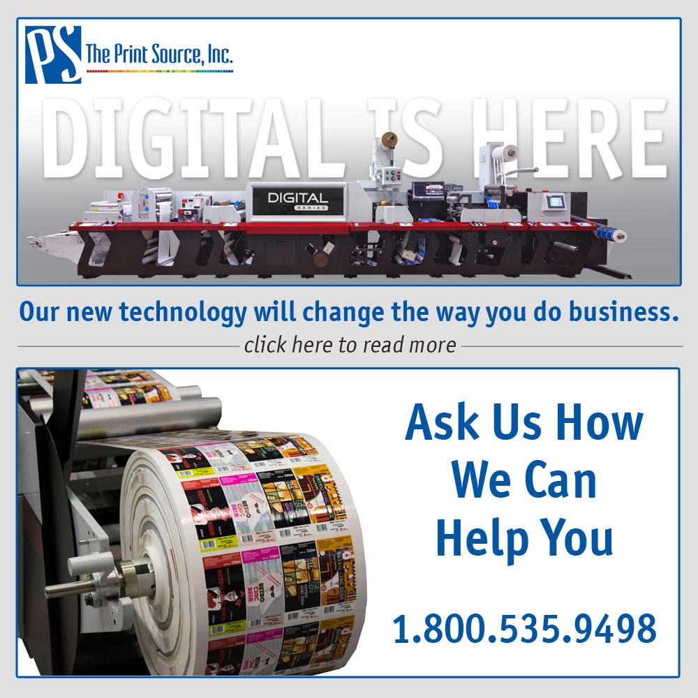 New Digital Flexo Press in Wichita