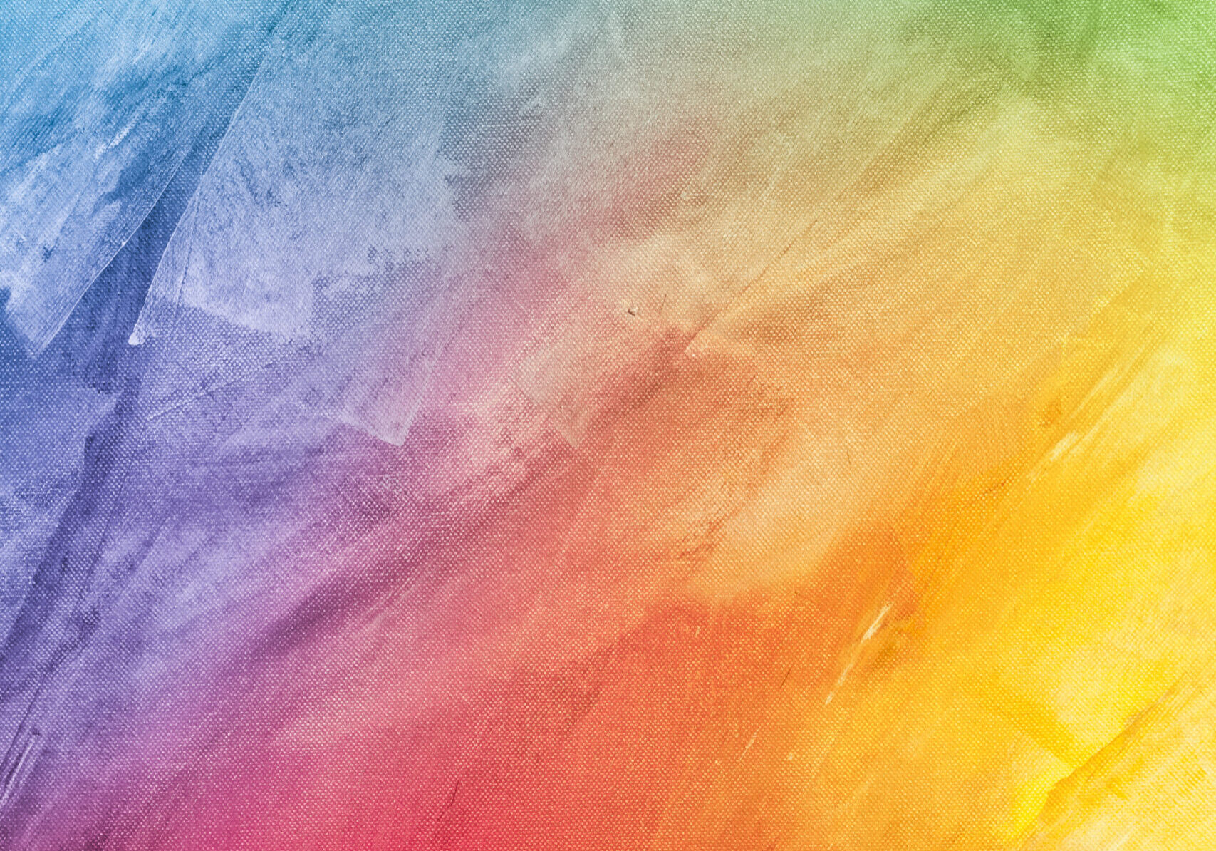 Textured rainbow painted background