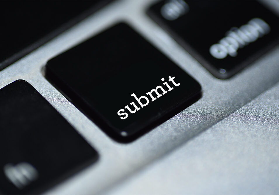 Keyboard with word Submit on key